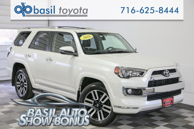 Certified Pre Owned 2016 Toyota 4runner Limited